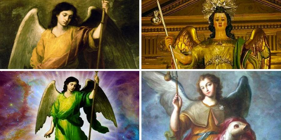 imágenes de san Rafael arcángel