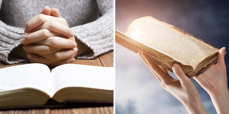 Imagen de las escrituras sagradas