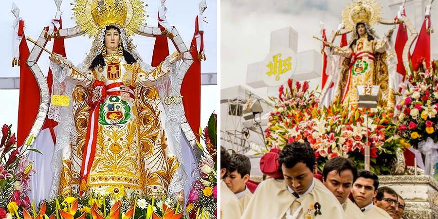 Altar a la virgen de las mercedes