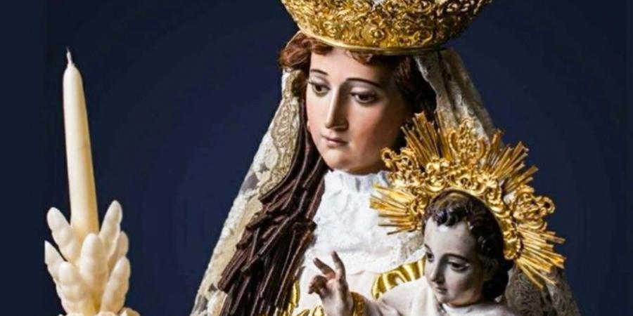 imágenes de la virgen de candelaria